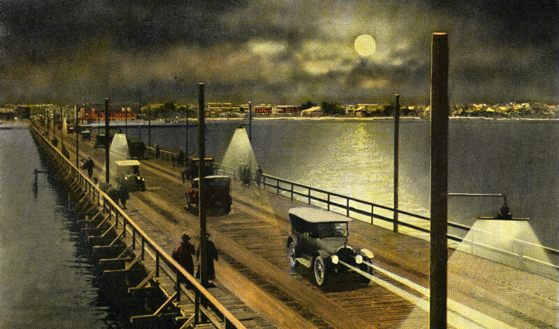 Municipal Pier by Night
