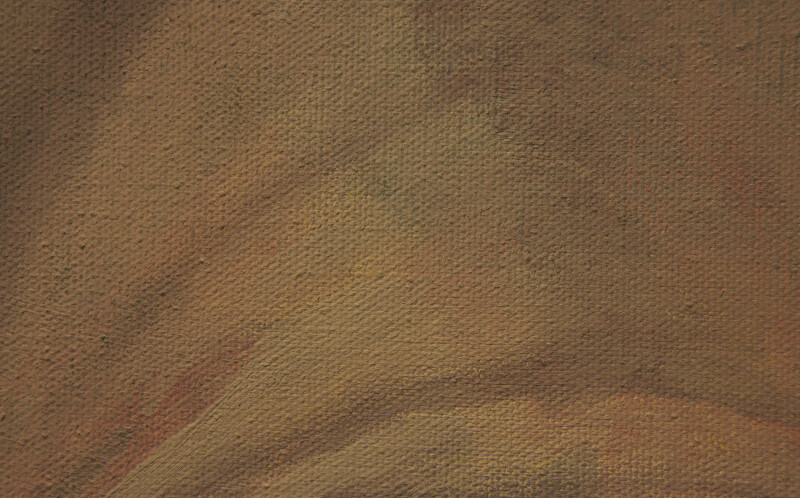 Mustard-Colored Canvas