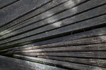 Narrow, Wooden Slats