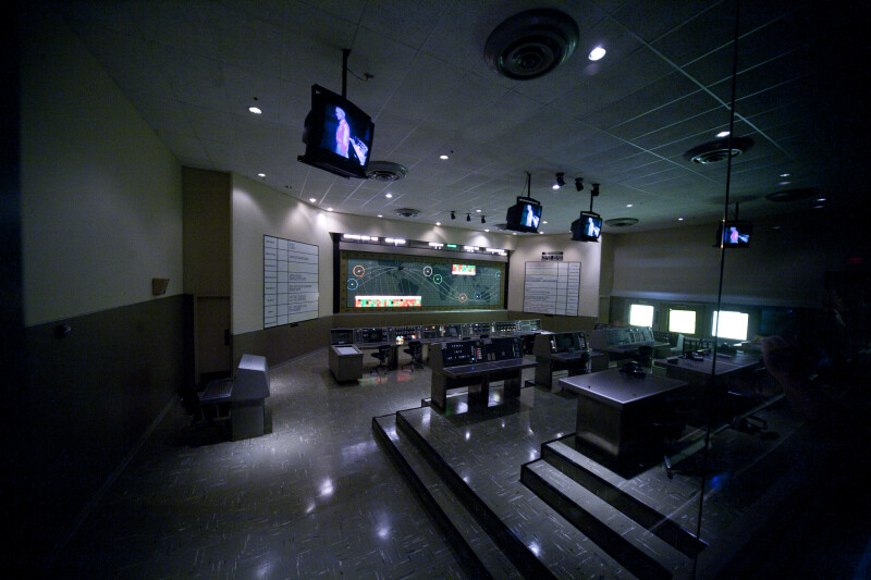 NASA Mission Control Room