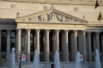 National Archives Building and Fountain