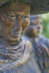 Native American Woman Detail