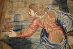 Nativity Tapestry, A King