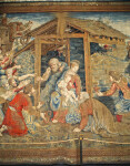 Nativity Tapestry, Holy Family