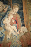 Nativity Tapestry, Mother and Child