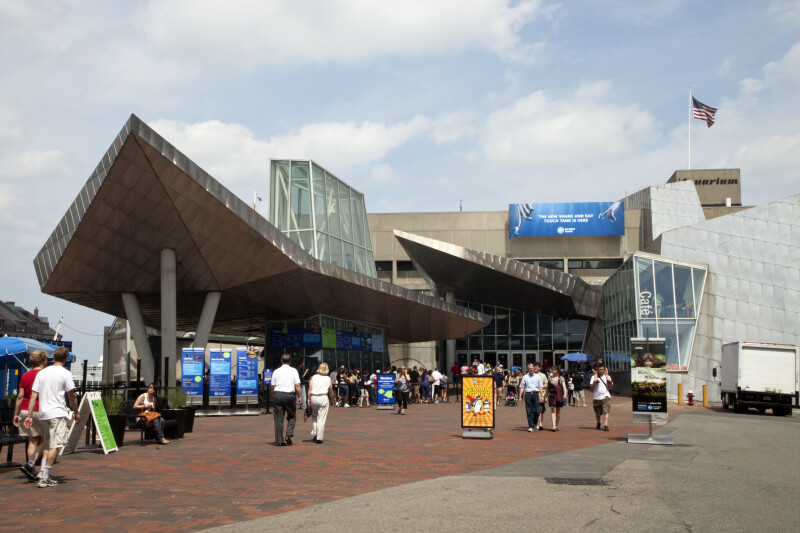 New England Aquarium Entrance