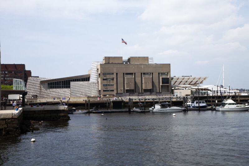 New England Aquarium Side