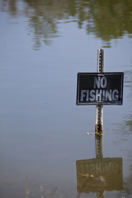 """No Fishing"""