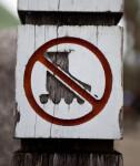 No Rollerskating Allowed