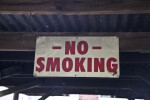 No Smoking' Sign