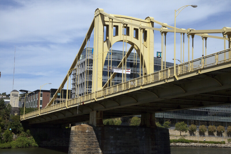 Northern View of Andy Warhol Bridge
