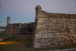 Northwest and Northeast Corners of Castillo de San Marcos