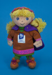Norway Kristin, the Girl Mascot for the Lillehammer Winter Olympics (Full View)