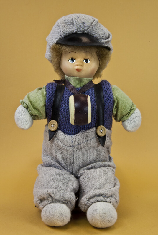 Norway Male Doll with Drum and Sailor's Cap (Full View)