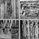O Pórtico da Gloria, the west porch and portals of Santiago cathedral photographs