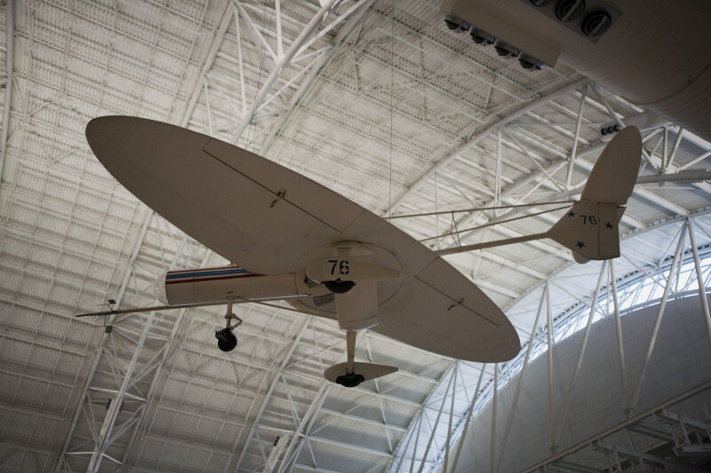Oblique Wing Research Aircraft Underside