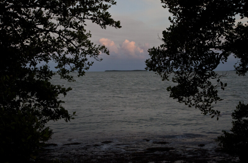 Water and Clouds at the Florida Campgrounds of Everglades National Park