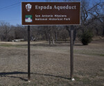Official Sign for the Espada Aqueduct