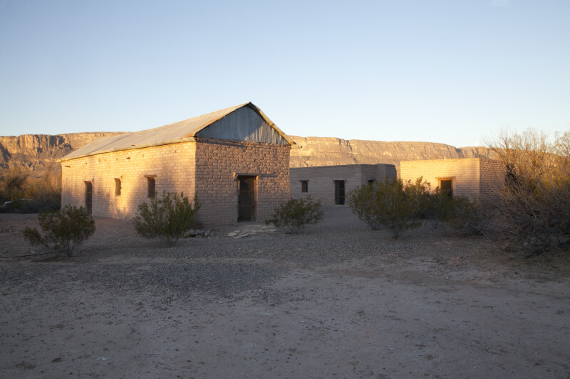 Old Castolon Store and its Satellites