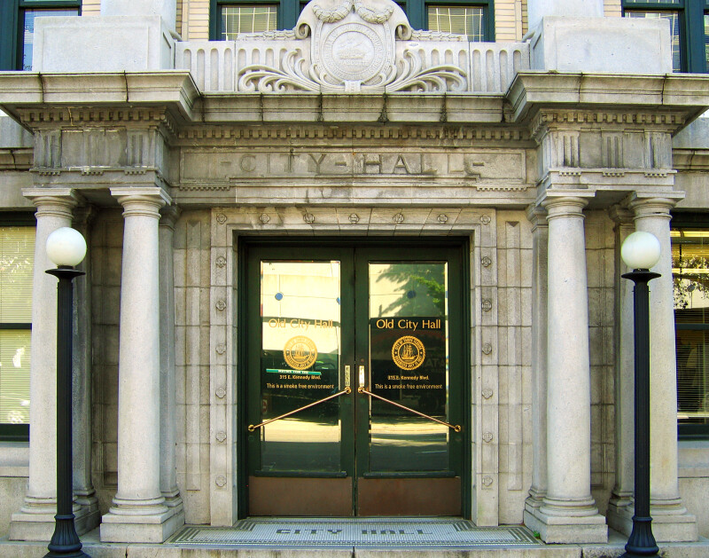 Old City Hall Entrance