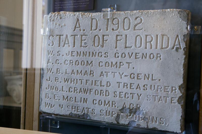 Old State Capitol Cornernstone