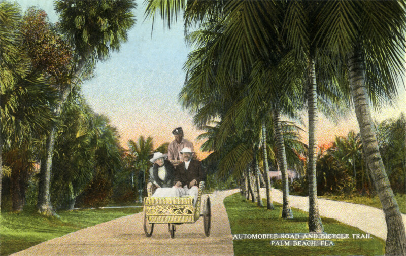 On the Bicycle Trail in a Bicycle Chair