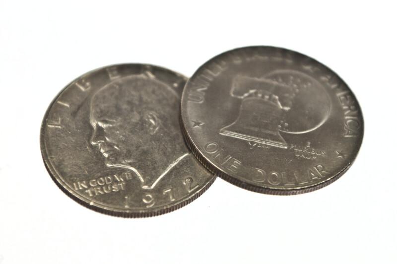 One Dollar American Coin