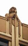 One of the Knights on the Huntington Building
