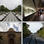One-Point Perspective photographs