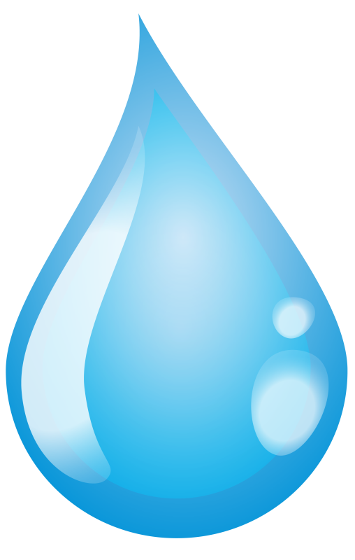 One Water Drop Illustration