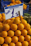 Oranges for Sale at an Outdoor Market in Kusadasi