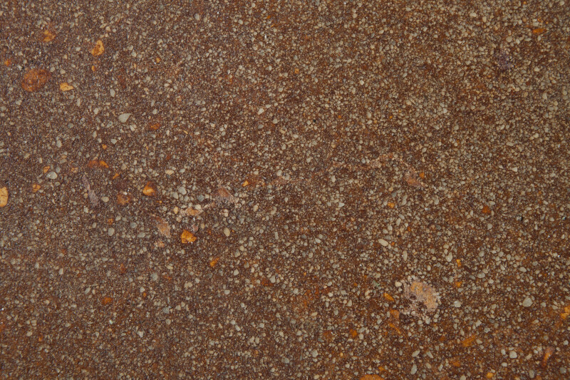 Orangish Concrete Floor