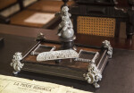 Ornate Inkwell on Luis Muñoz Rivera. Desk