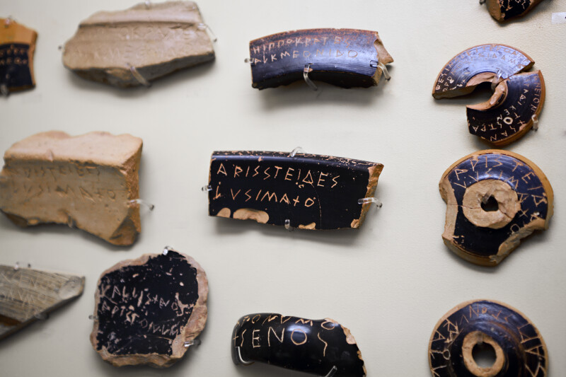 Ostracism Voting Potsherds