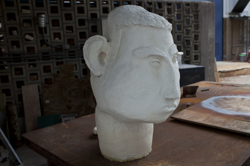 Oversized Ceramic Head #1