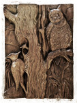 Owls and Woodpeckers in Bronze