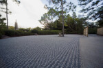 Pagoda, Stone Lantern and Pine Tree Rock Garden