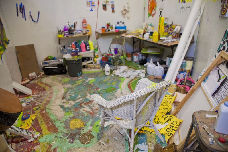 Painter's Workspace #2