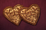 Pair of Heart Ornaments