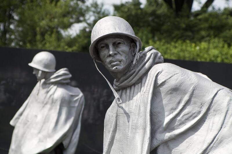 Pair of Korean War Soldiers