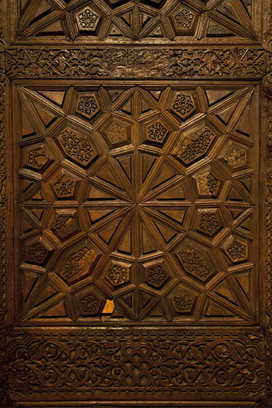 Pair of Wooden Doors from the Konya Karaman Period