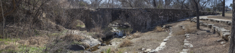 Panoramic View of the Espada Acequia
