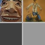 Papier-Mâché Sculpture photographs