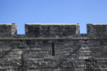Parapet Above Main Wall of Castillo de San Marcos