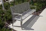 Park Bench near USF Library