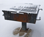 Park Grill in the Snow