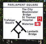 Parliament Square Sign