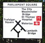 Parliament Square Sign