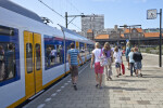 Passengers Arriving at Zandvoort