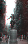 Paul Revere on Horseback, from front